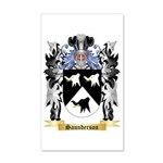 Saunderson 35x21 Wall Decal