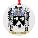 Saunders Round Ornament