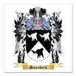 Saunders Square Car Magnet 3