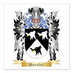Saunder Square Car Magnet 3