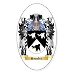 Saunder Sticker (Oval)
