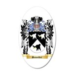 Saunder 35x21 Oval Wall Decal