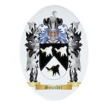 Saunder Oval Ornament