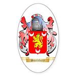 Saulsbury Sticker (Oval 50 pk)