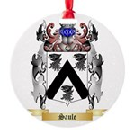 Saule Round Ornament