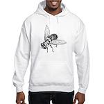 Honey Bee Insect Art Hooded Sweatshirt