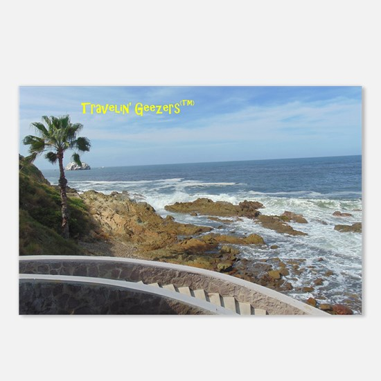 Steps to the Beach Postcards (Package of 8)