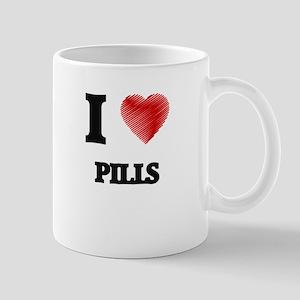 I Love Pills Mugs