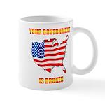 Broken Government Mug Mugs
