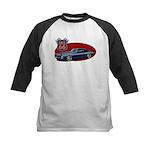 Route 66 Camaro Kids Baseball Jersey