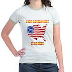 Broken Government Jr. Ringer T-Shirt