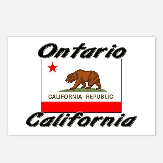 Ontario California Postcards (Package of 8)