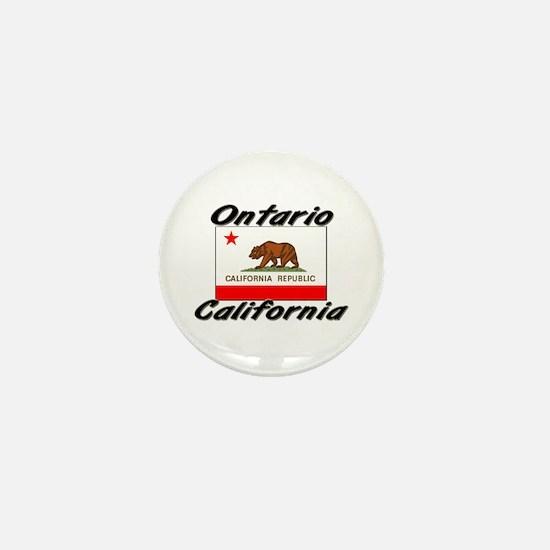 Ontario California Mini Button