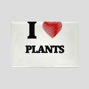 I Love Plants Magnets