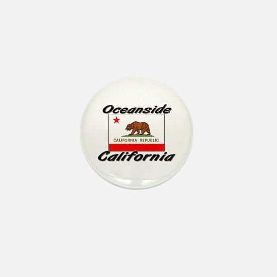 Oceanside California Mini Button