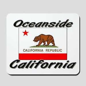 Oceanside California Mousepad