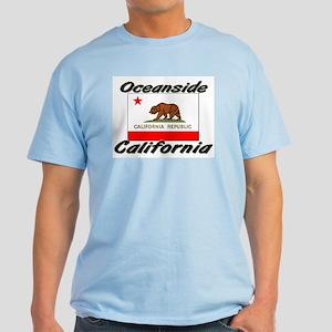 Oceanside California Light T-Shirt