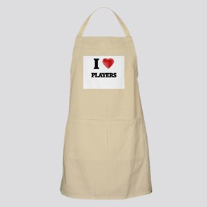 I Love Players Apron