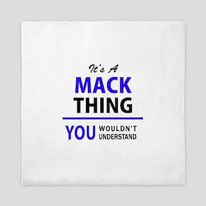 MACK thing, you wouldn't understand! Queen Duvet