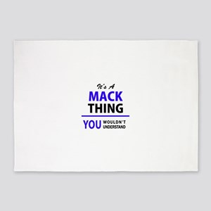 MACK thing, you wouldn't understand 5'x7'Area Rug