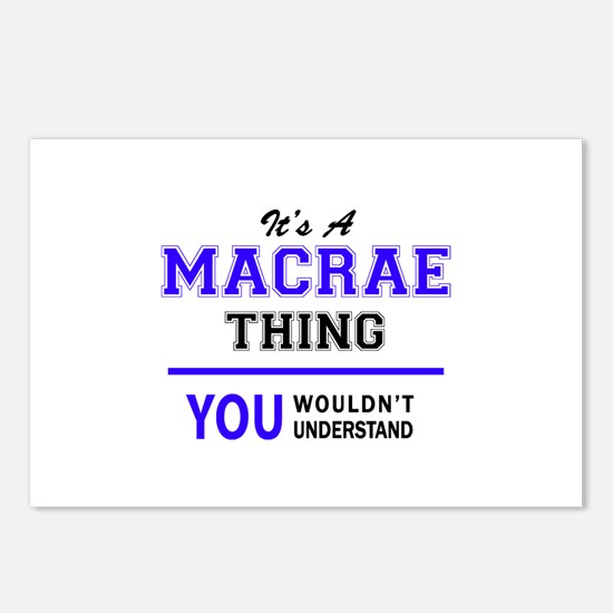 MACRAE thing, you wouldn' Postcards (Package of 8)