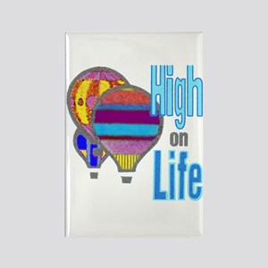 High on Life - Rectangle Magnet