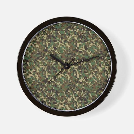 ARMY DIGI CAMO Wall Clock