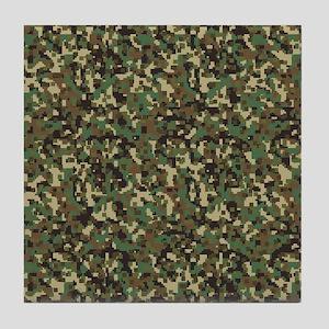 ARMY DIGI CAMO Tile Coaster