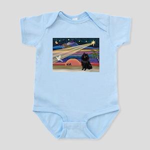 Xmas Star & Schipperke Infant Bodysuit