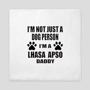 I'm a Lhasa Apso Daddy Queen Duvet