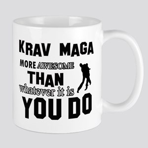 Krav Maga More Awesome Designs Mug