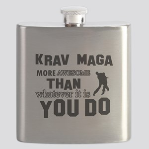 Krav Maga More Awesome Designs Flask