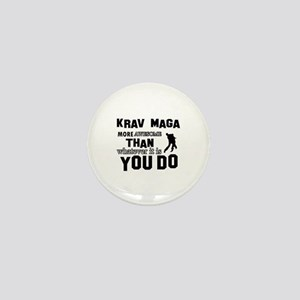 Krav Maga More Awesome Designs Mini Button