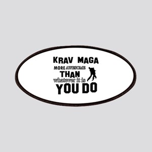Krav Maga More Awesome Designs Patch
