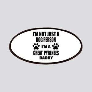 I'm a Great Pyrenees Daddy Patch