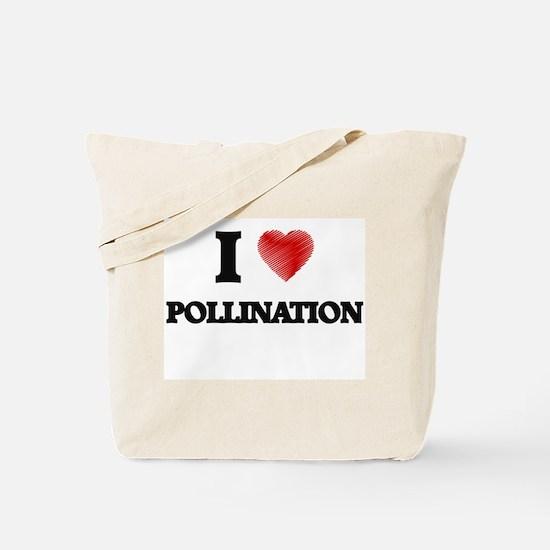 I Love Pollination Tote Bag