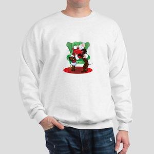 Santa and IWS Sweatshirt