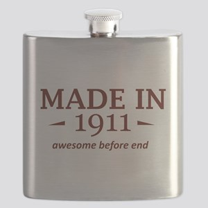 Made in 1911 Flask
