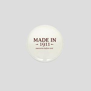 Made in 1911 Mini Button