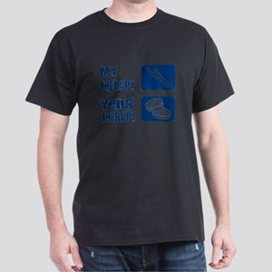 Trombone My Therapy Dark T-Shirt