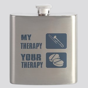 Trombone My Therapy Flask