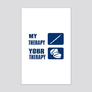 Oboe My Therapy Mini Poster Print
