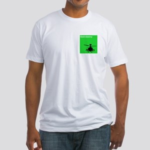 AH-64 Longbow Apache Fitted T-Shirt