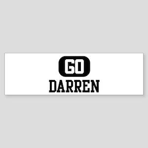 Go DARREN Bumper Sticker
