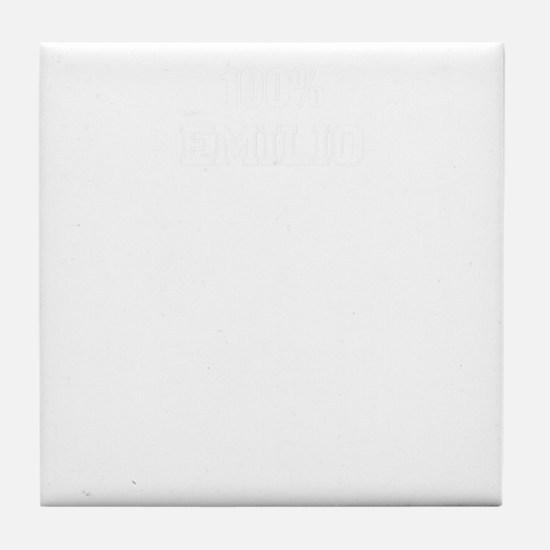 100% EMILIO Tile Coaster
