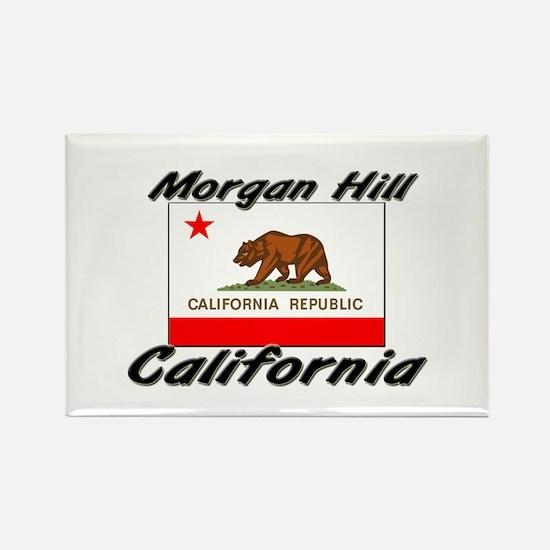 Morgan Hill California Rectangle Magnet
