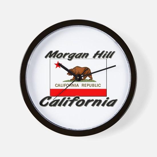 Morgan Hill California Wall Clock