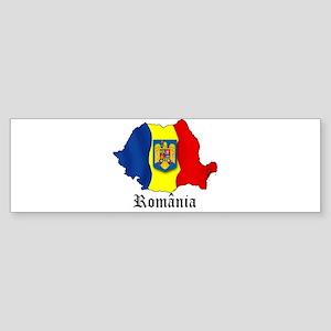 Romania arms Bumper Sticker