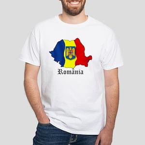 Romania arms White T-Shirt