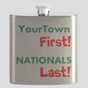 YourTown First - Nationals Last Flask